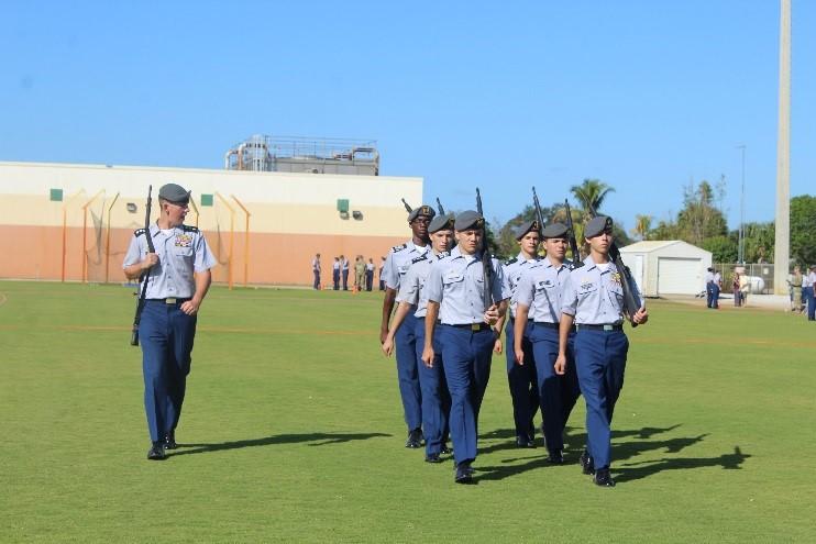 Jaguar Battalion 2017 Jupiter Drill Meet