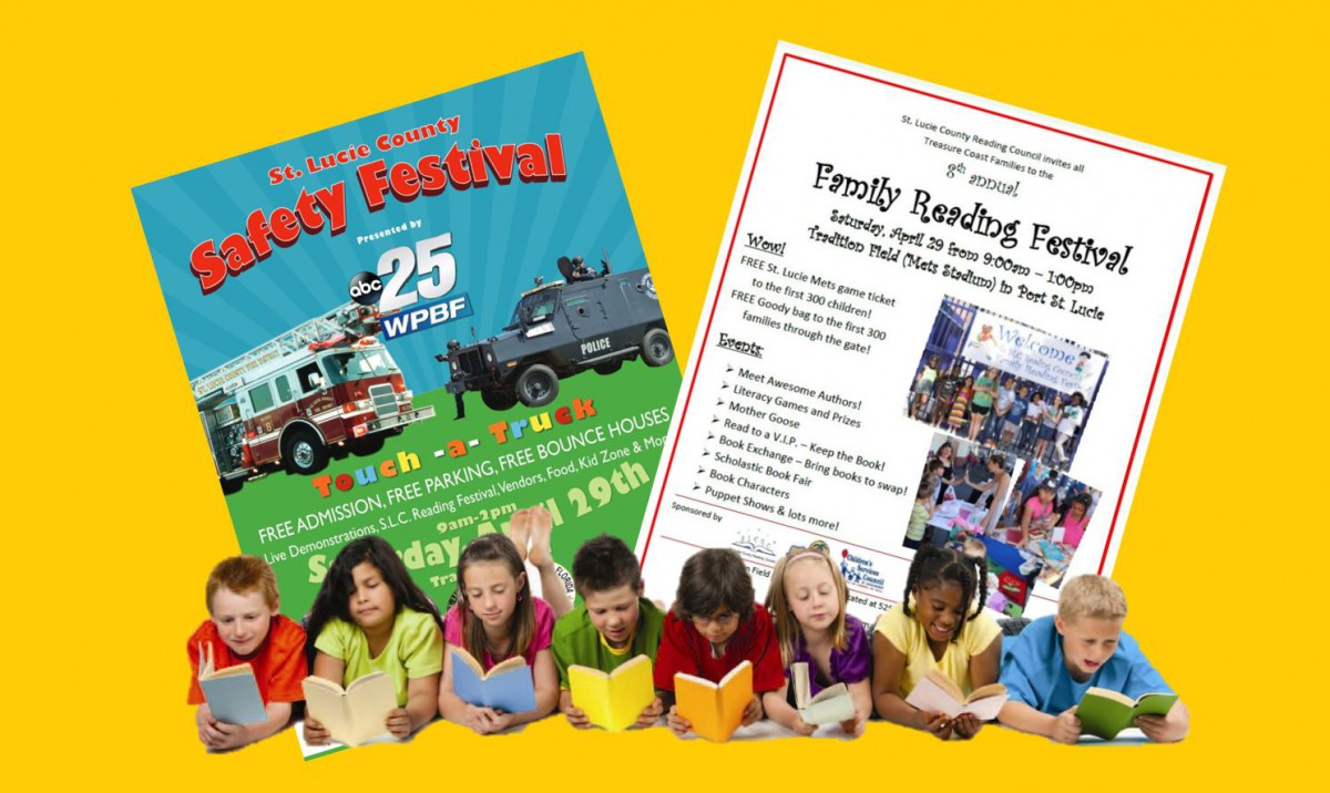 This Saturday Family Reading and Safety Festivals