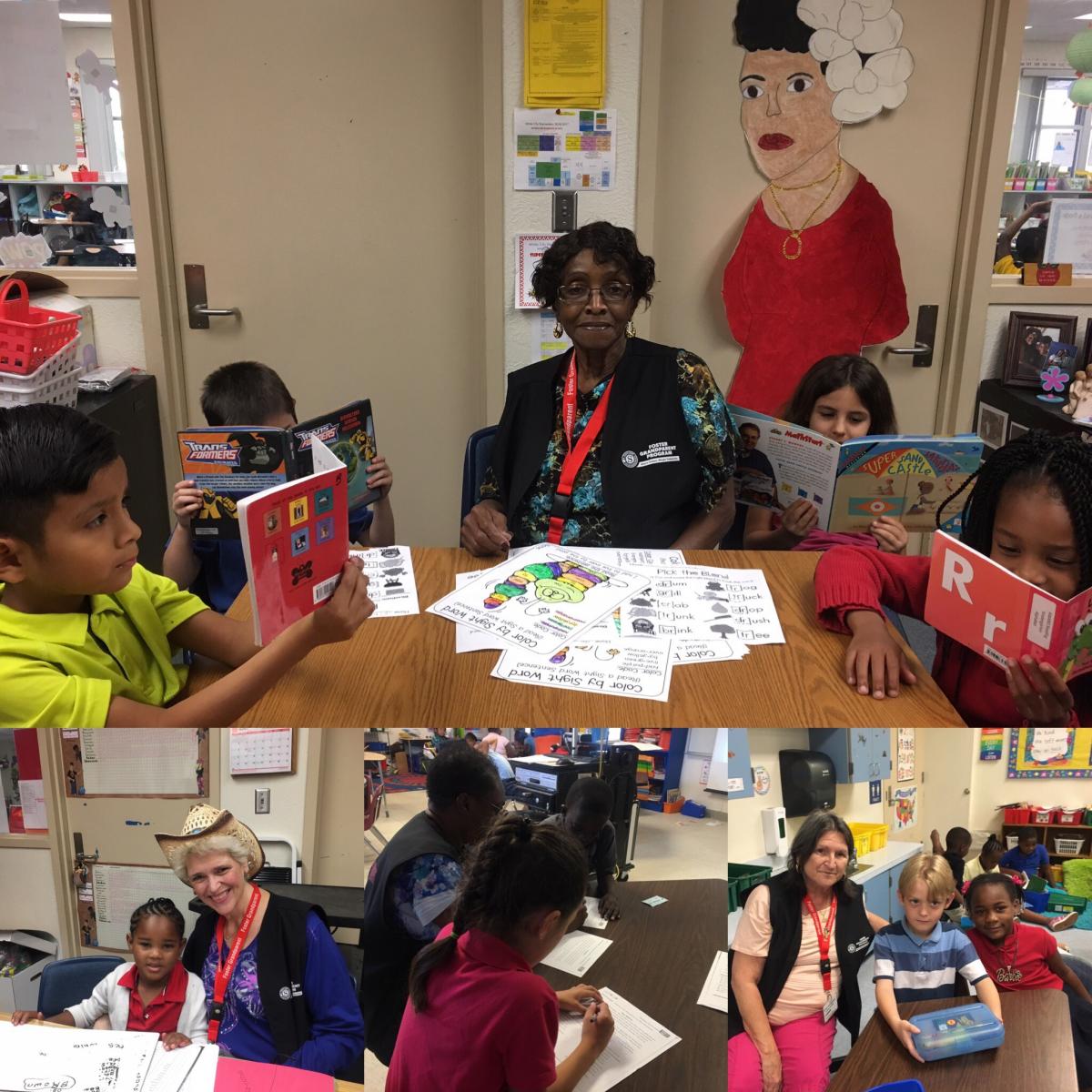 Foster Grandparent Program at White City Elementary