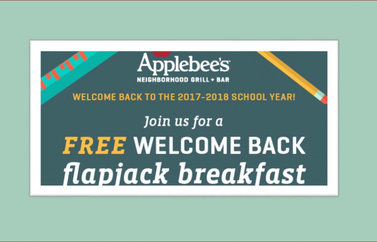 Flapjack Breakfast