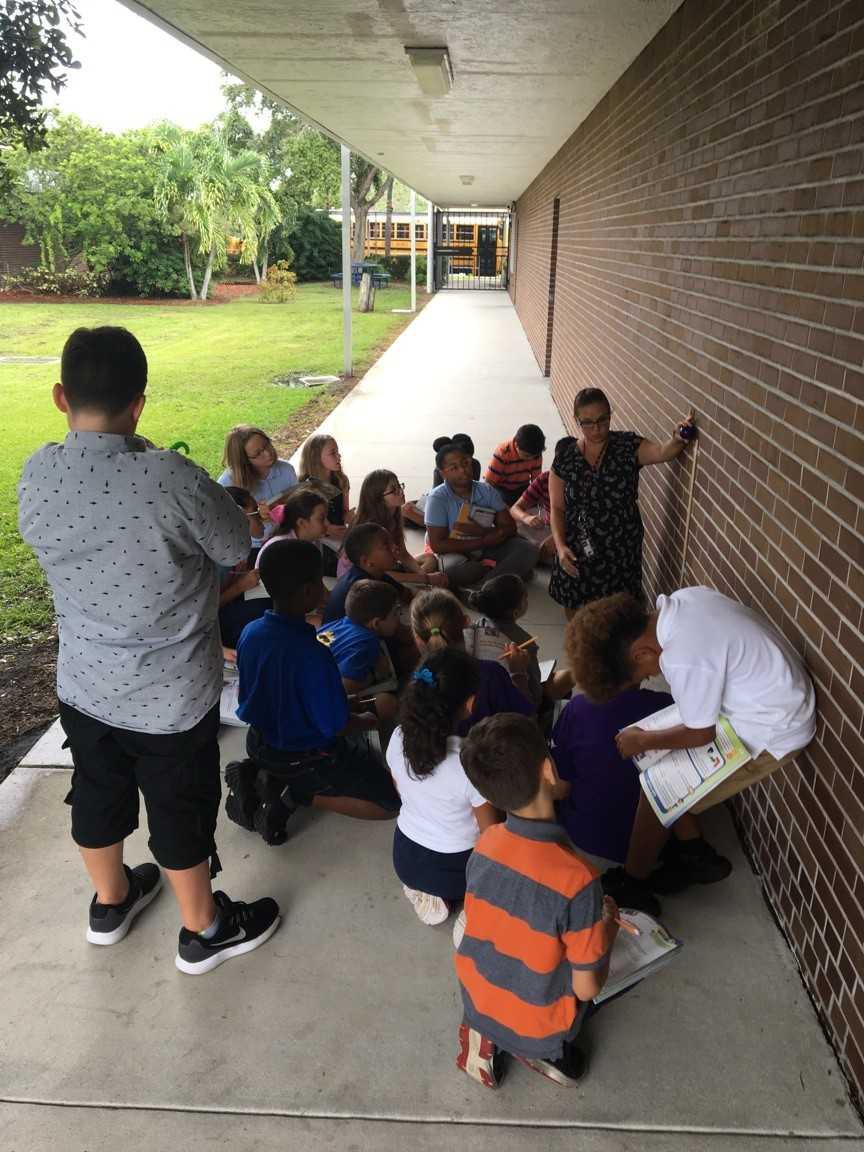 Mariposa Elementary Fifth Graders Investigate