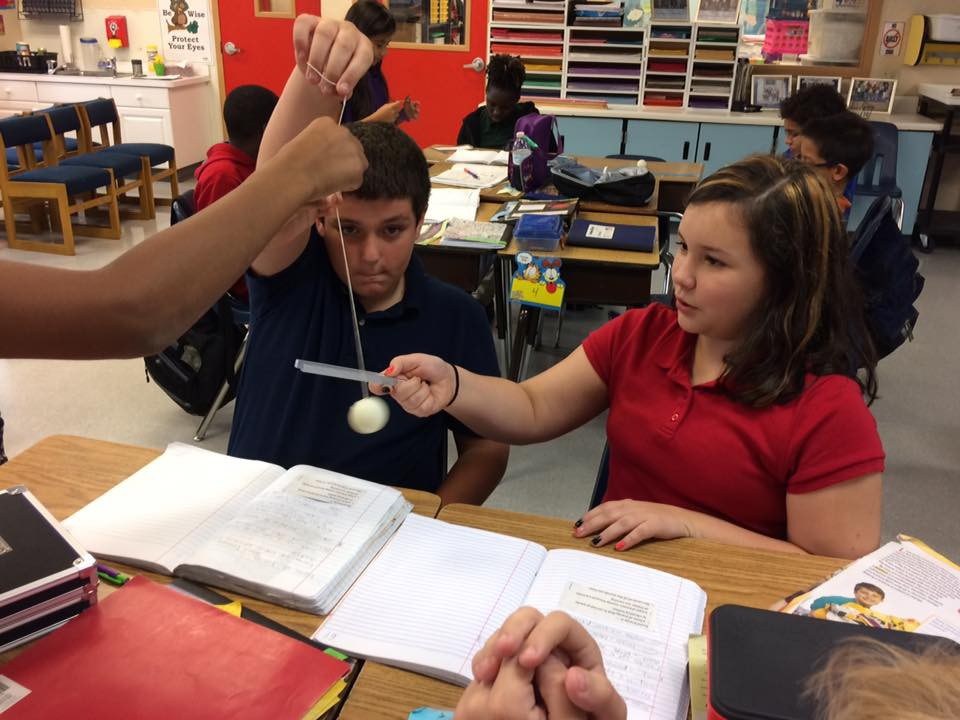 Bayshore Elementary Fifth Graders Explore Sound Energy