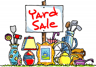 Yard Sale – November 18