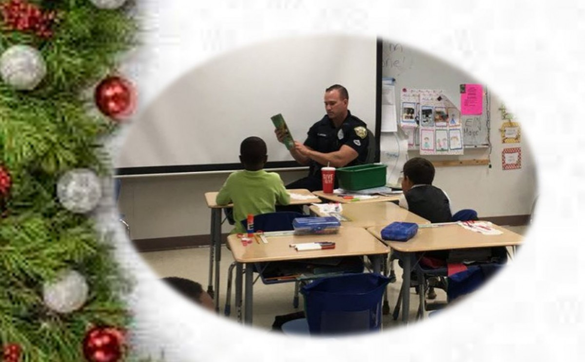 PSLPD Reads to SLWK-8 1st Graders