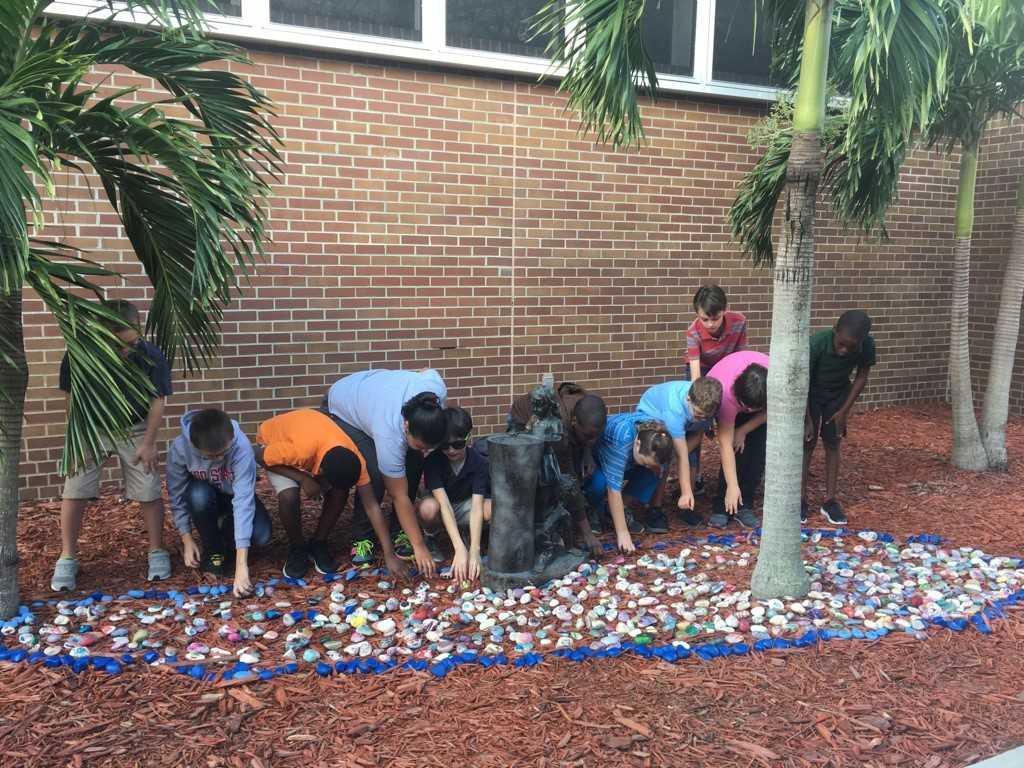 Mariposa Elementary PBIS Unity Garden