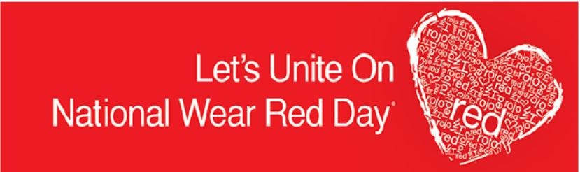 Feb 2 – Wear Red