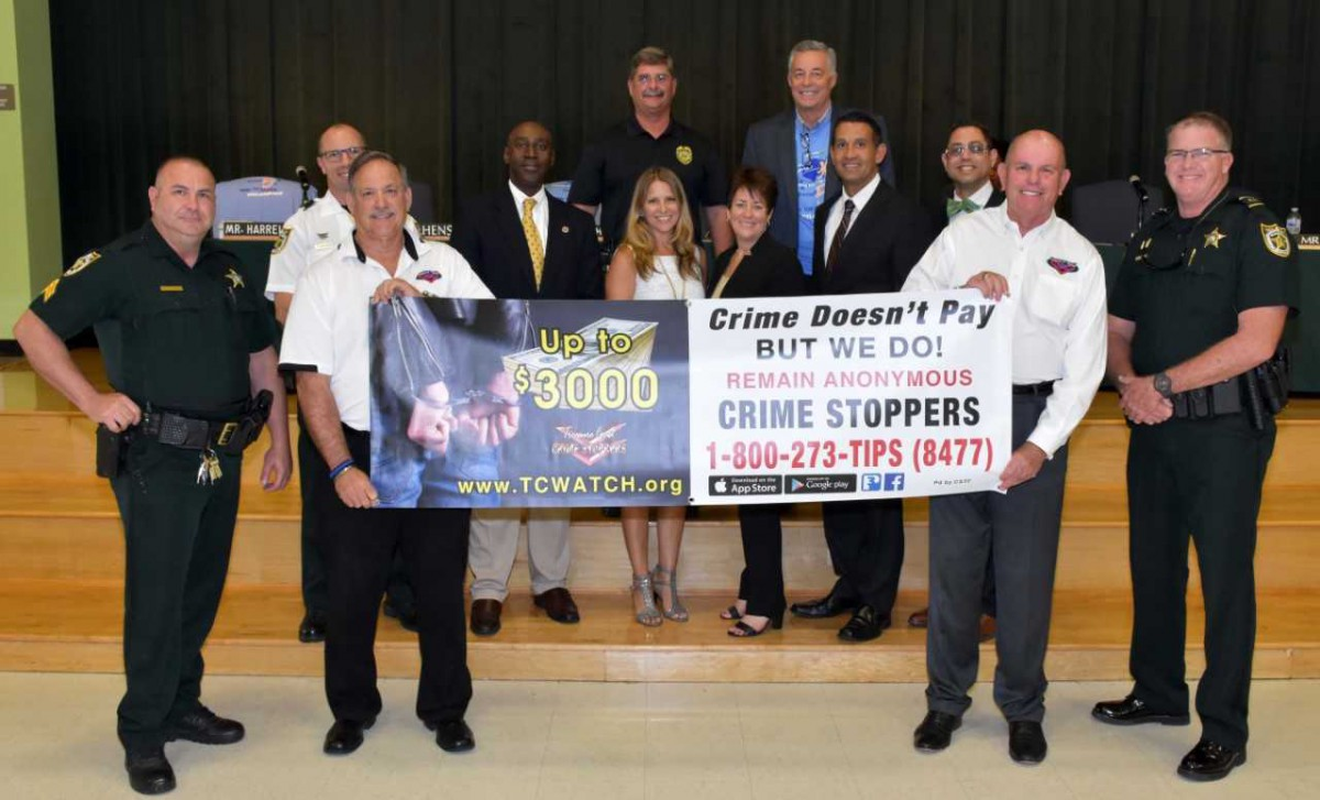 Crime Stoppers – See Something Say Something