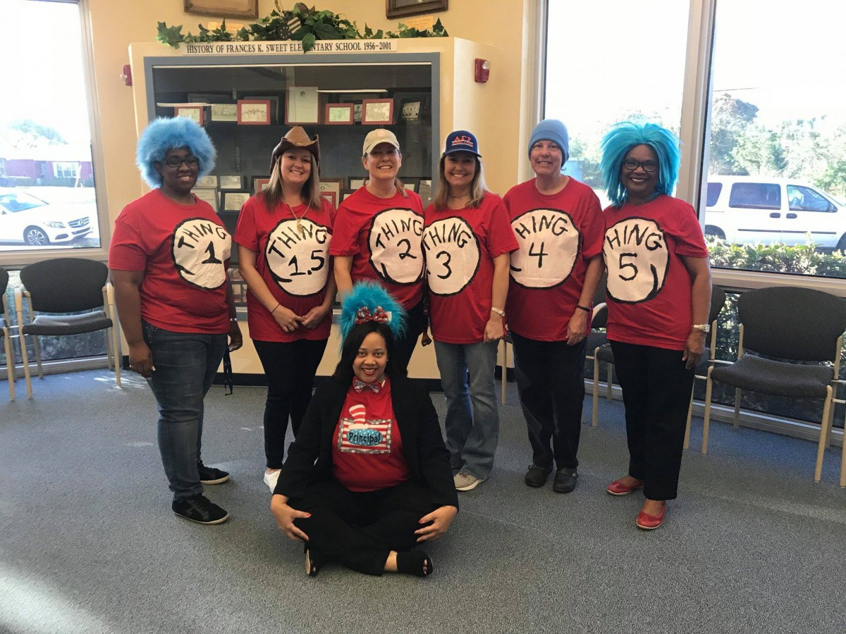 F.S. Sweet Loves Dr. Seuss!