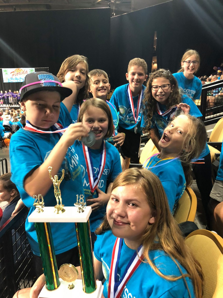 Morningside Elementary – Moving On To World Odyssey!