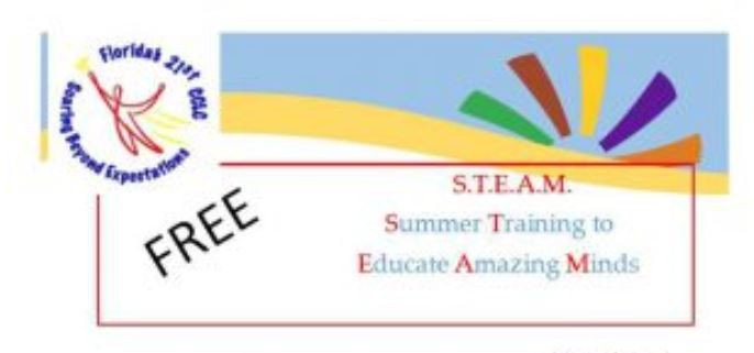 Summer STEAM – Spread the Word