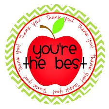 Teacher Appreciation Week:  May 7-11