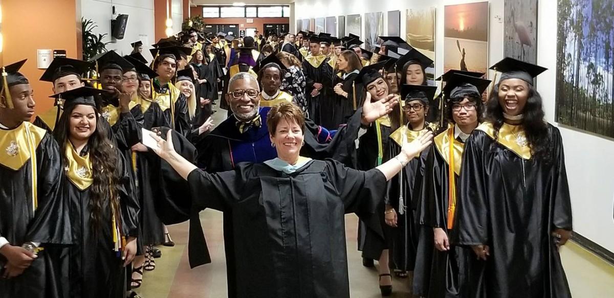 Celebrating Graduates