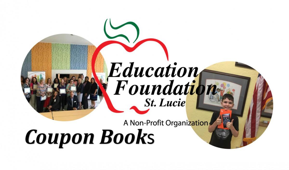 Enjoy the Savings – Ed Foundation Coupon Books