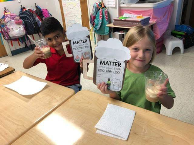 Northport First Graders Apply Science to Life!