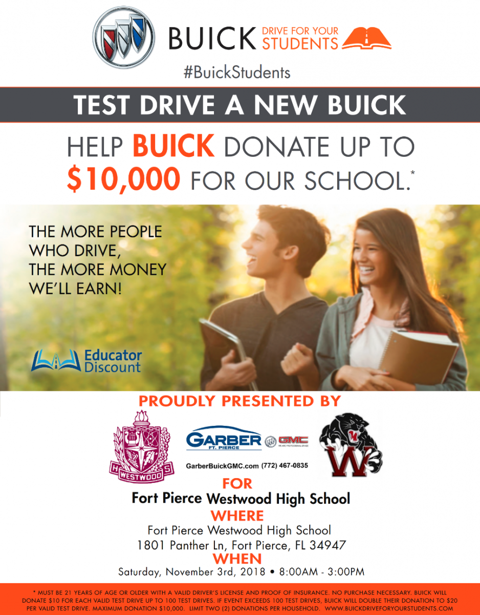 Test Drive for Education Fundraiser at Fort Pierce Westwood