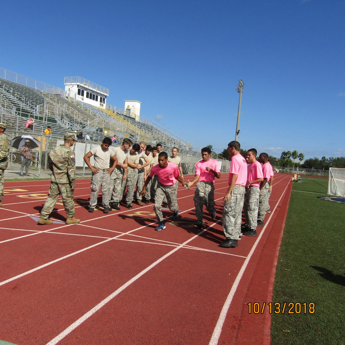 PSLHS Army JROTC Jaguar Battalion's Raiders Conquer Jupiter High