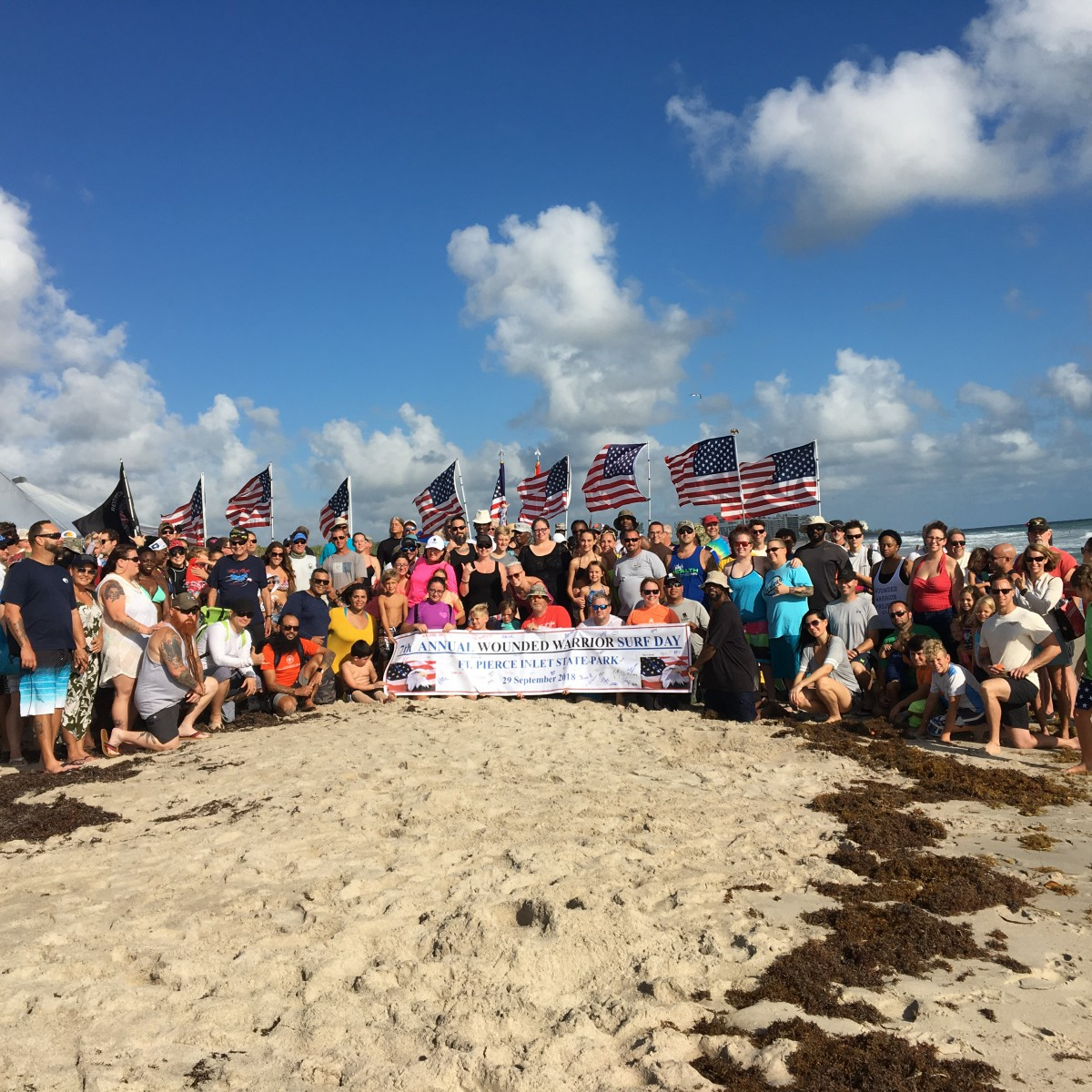 Port St. Lucie High School Army JROTC Assist with Wounded Warrior Surf Day Project!!!