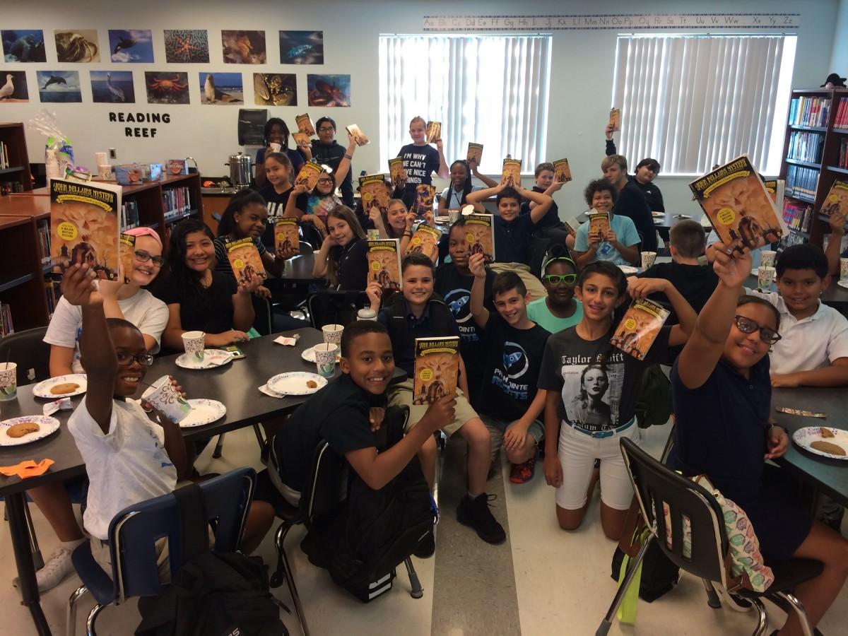 Palm Pointe Students Enjoy Book Club