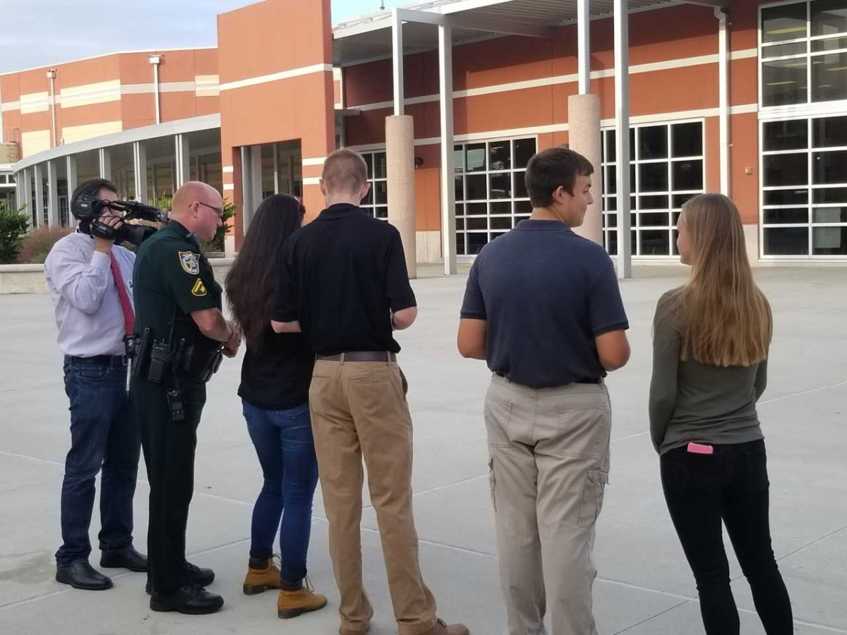 FPCHS Students Use Drone Technology For Safety