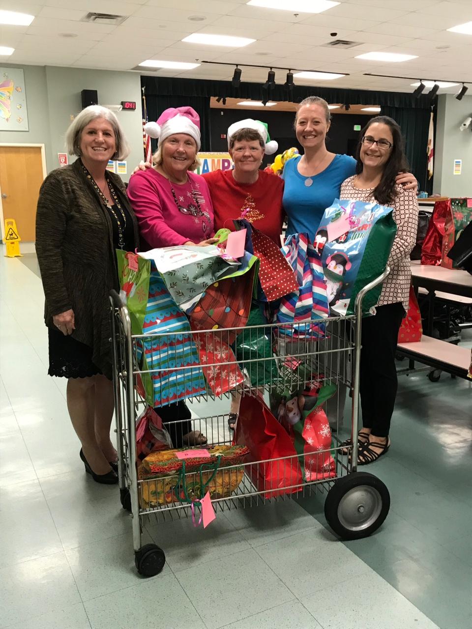 Weatherbee Receives 'Blessings In Bags!'