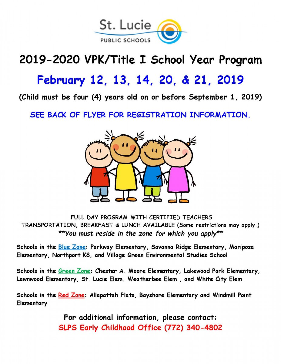 VPK Registration
