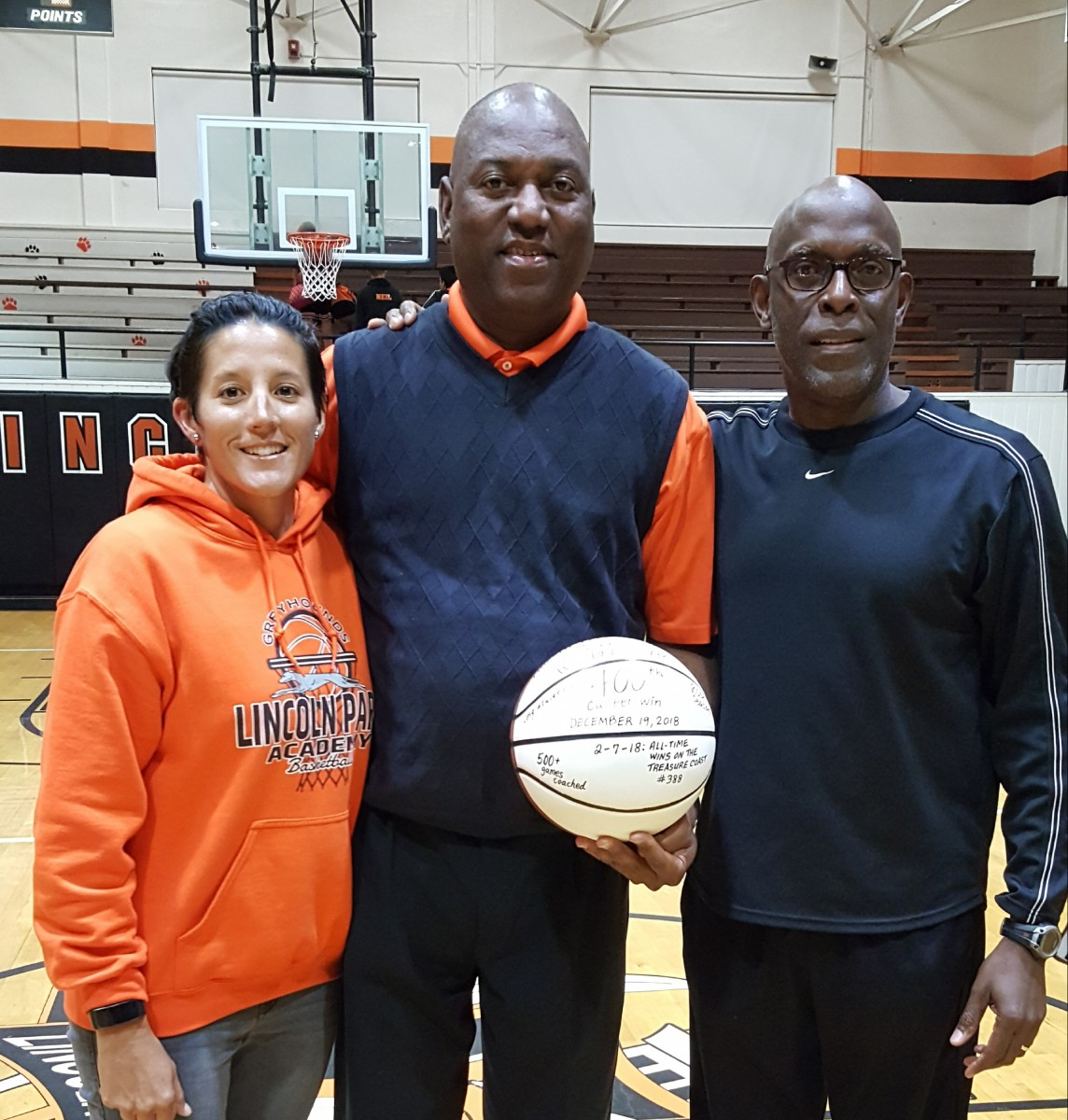 LPA GIRLS BASKETBALL COACH IS HONORED
