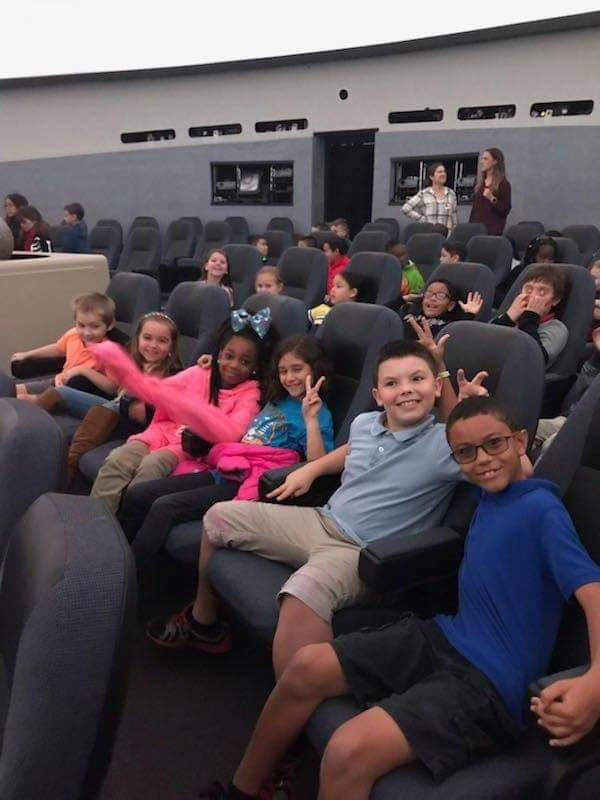 Northport Third Graders Visit Planetarium