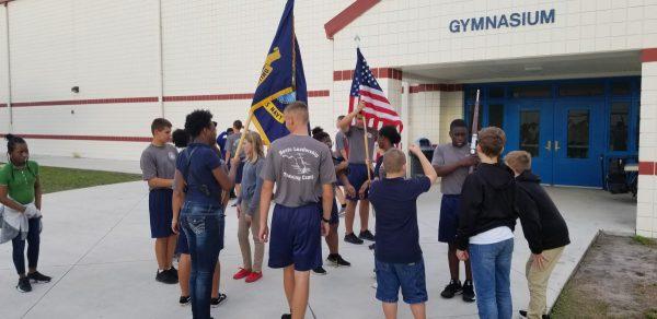 SLWCHS Navy JROTC Mentors Students