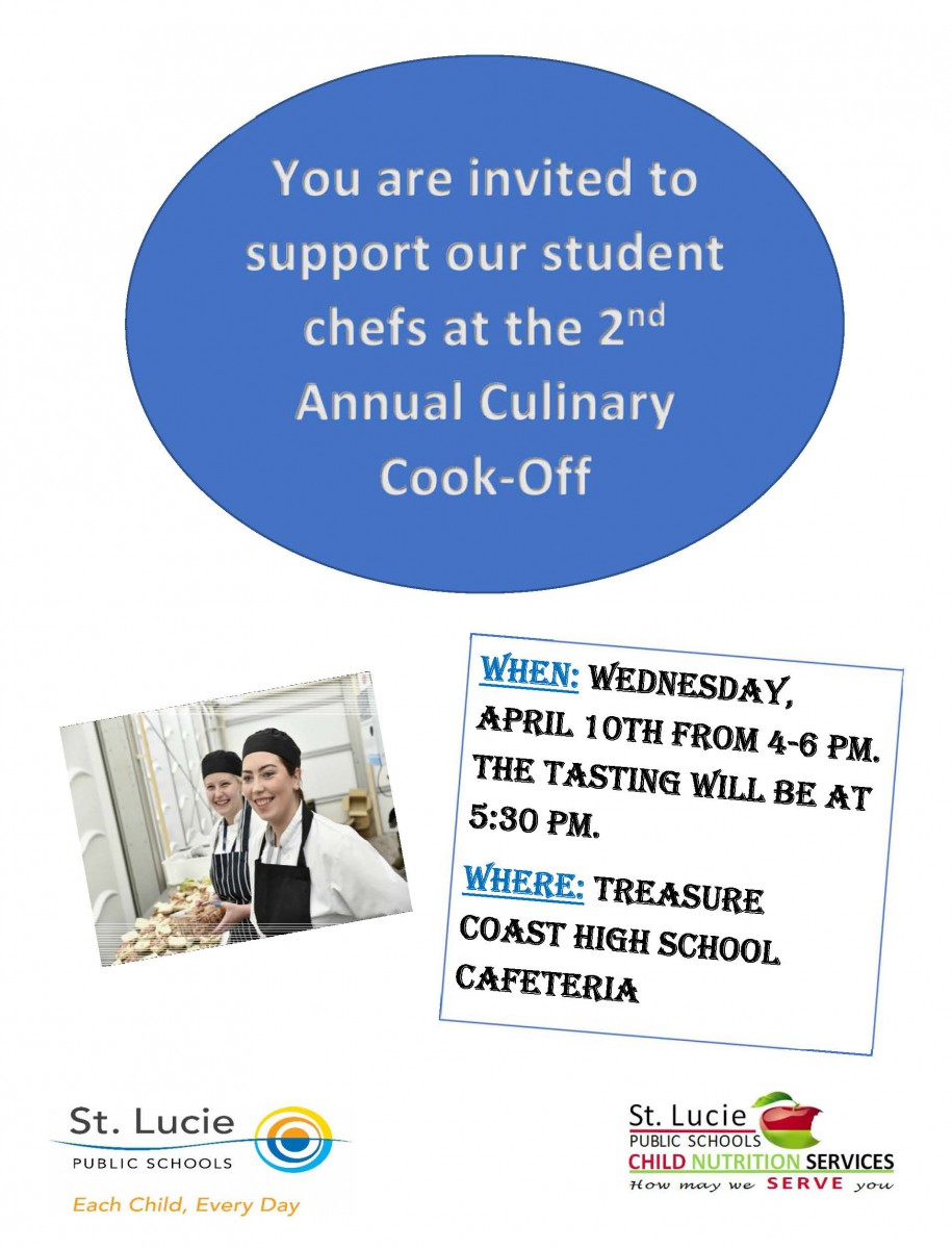 2nd Annual Culinary Cook-Off