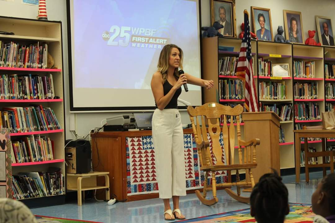 Northport Fifth Graders Host ABC Channel 25 Meteorologist, Britley Ritz
