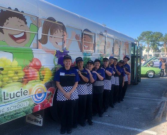 Southport Middle School Wraps Up National School Breakfast Week #NSBW19