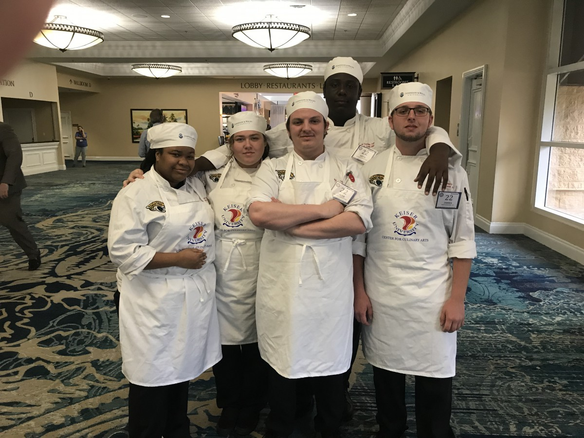 Port St. Lucie High Competes at ProStart Culinary Competition