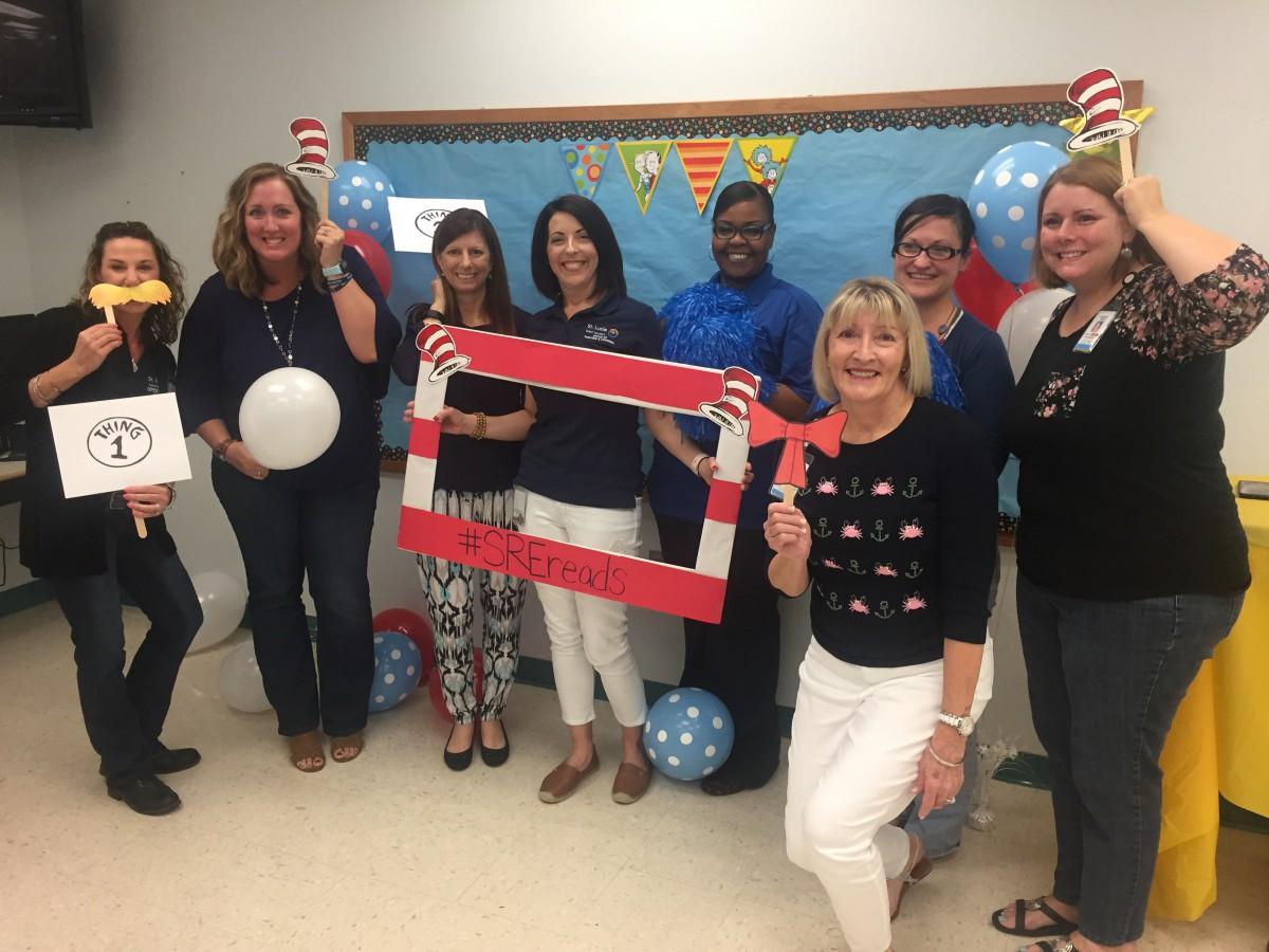 Savanna Ridge Elementary Celebrates Dr. Seuss Day