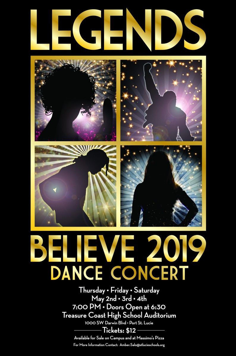 TCHS Dance Department Presents BELIEVE