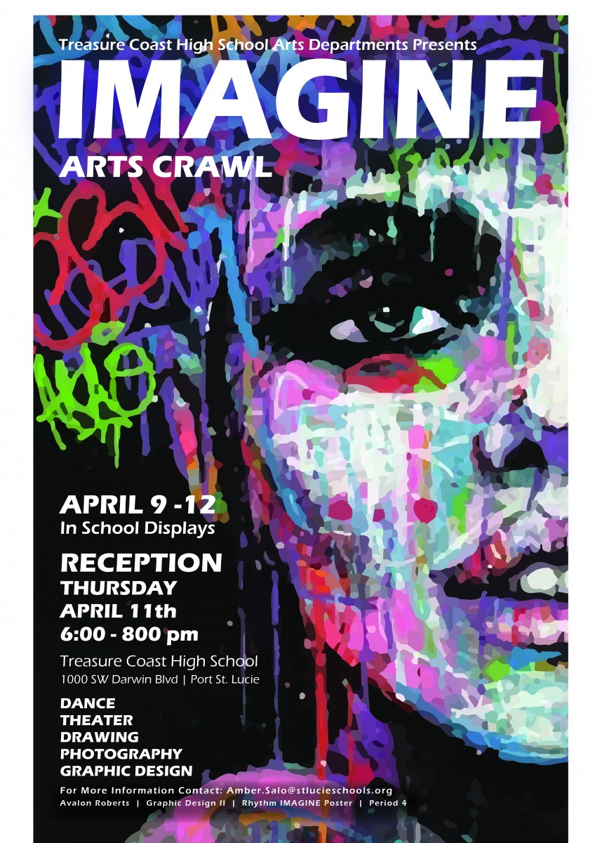 TCHS Annual IMAGINE Arts Crawl
