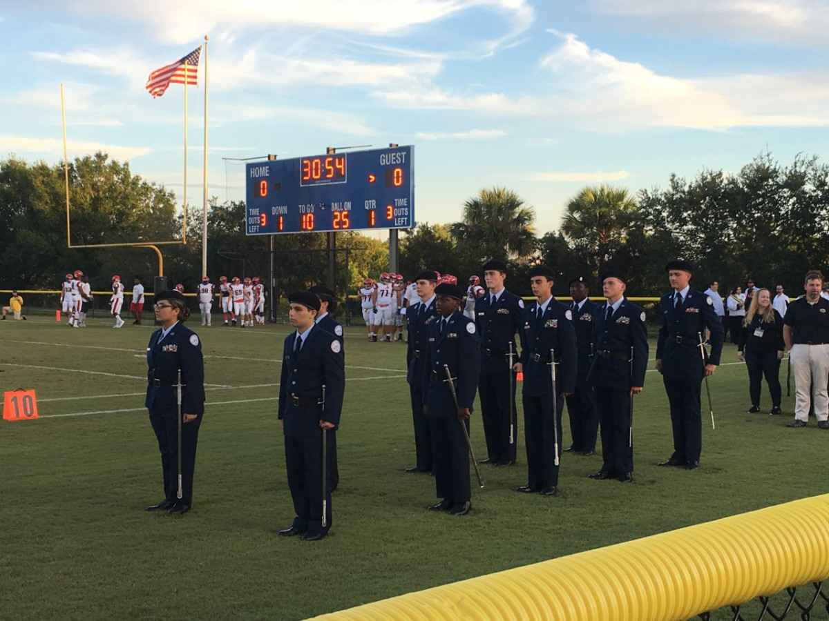 TCHS Air Force JROTC Wins Distinguished Unit Award