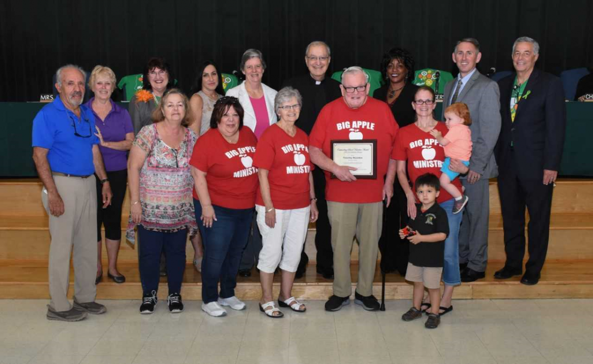 Volunteers Honored