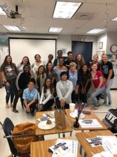 CTE – Allied Health Grad Breakfast at SLWCHS