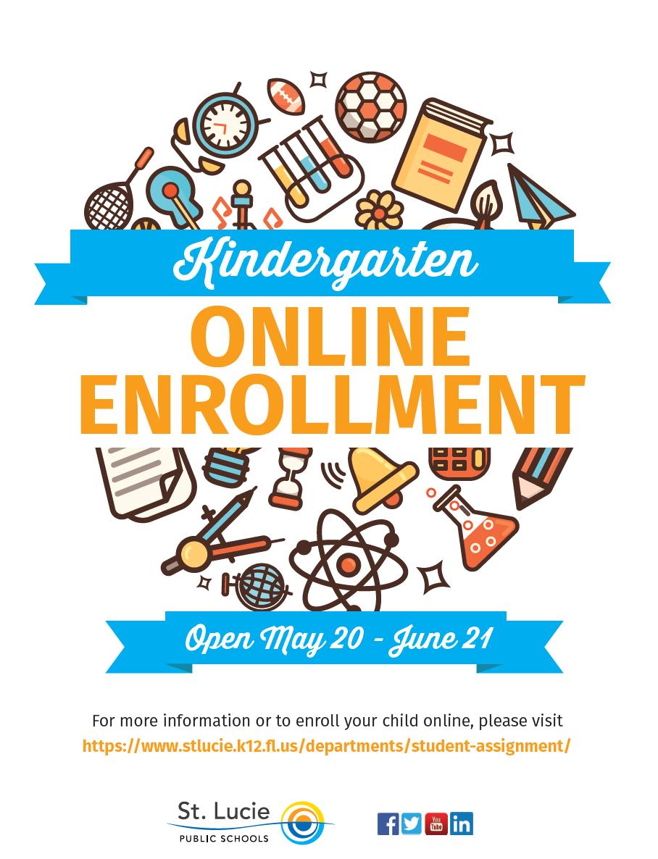 St. Lucie Public Schools Announces Kindergarten Online Open Enrollment