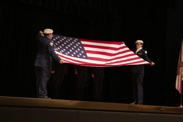 Treasure Coast High School AFJROTC Hosts Inaugural Patriot's Day Event
