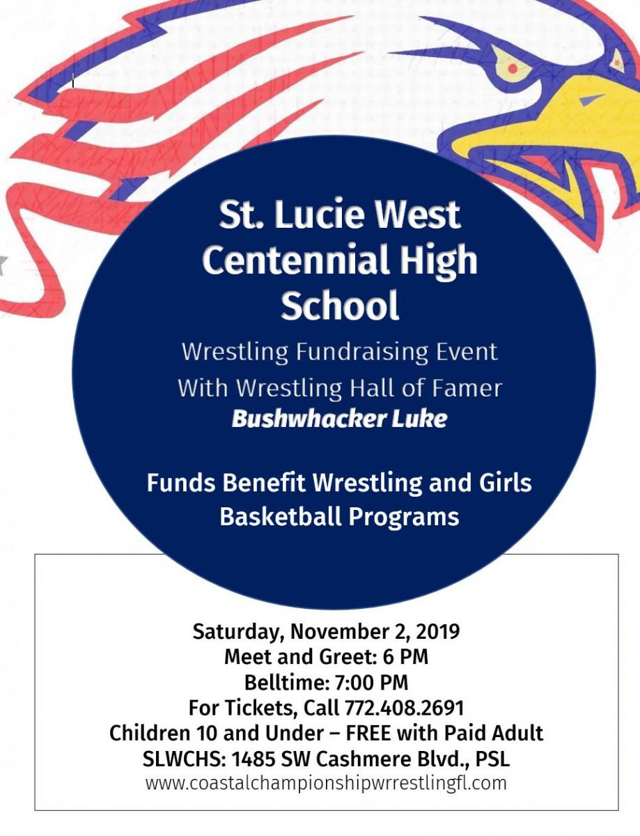 Wrestling Fundraising Event