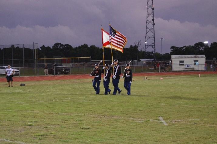 PSLHS Football Honor Guard