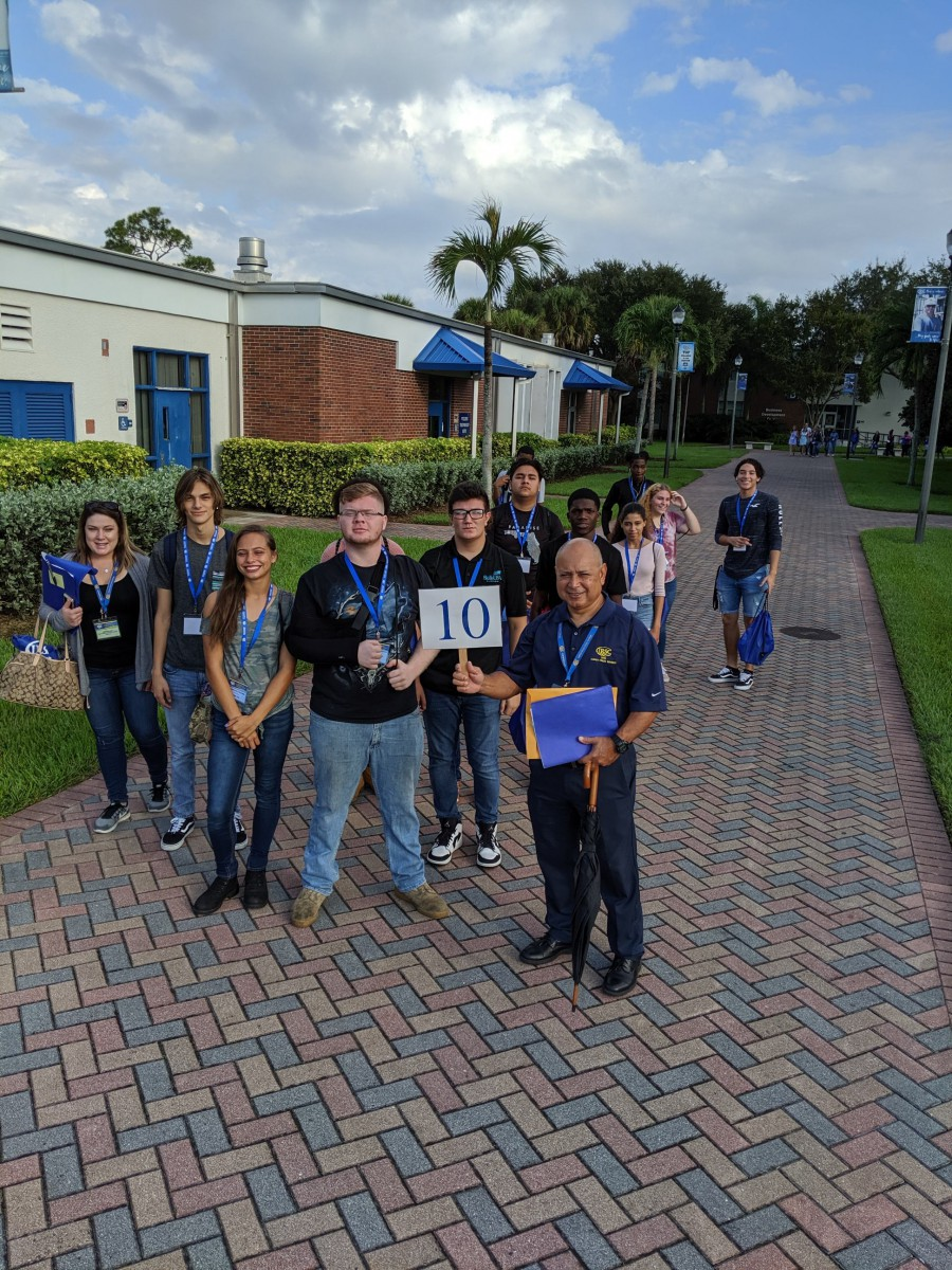 St Lucie Students Connect To Their Future at IRSC Great Explorations