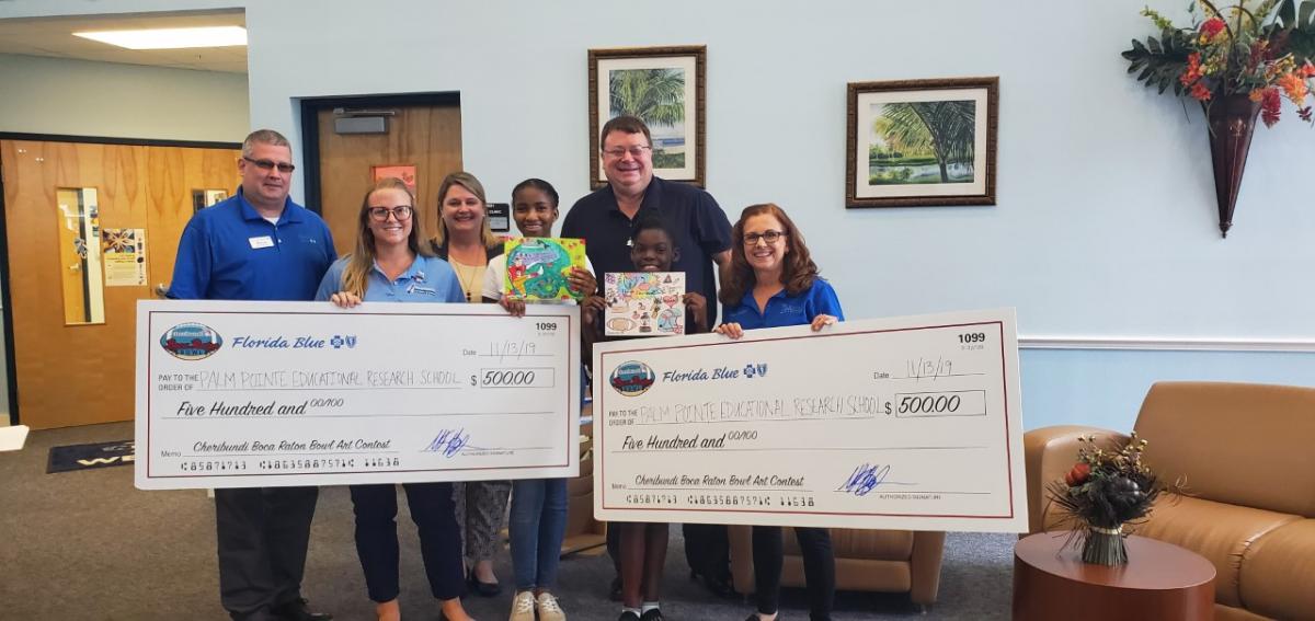 Palm Pointe Students Win Cheribundi Art Award