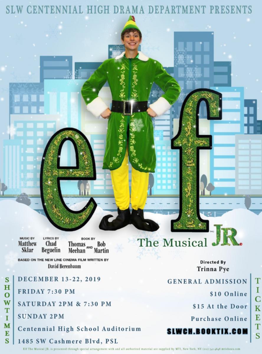 SLWCHS Drama Department Presents Elf Jr. the Musical