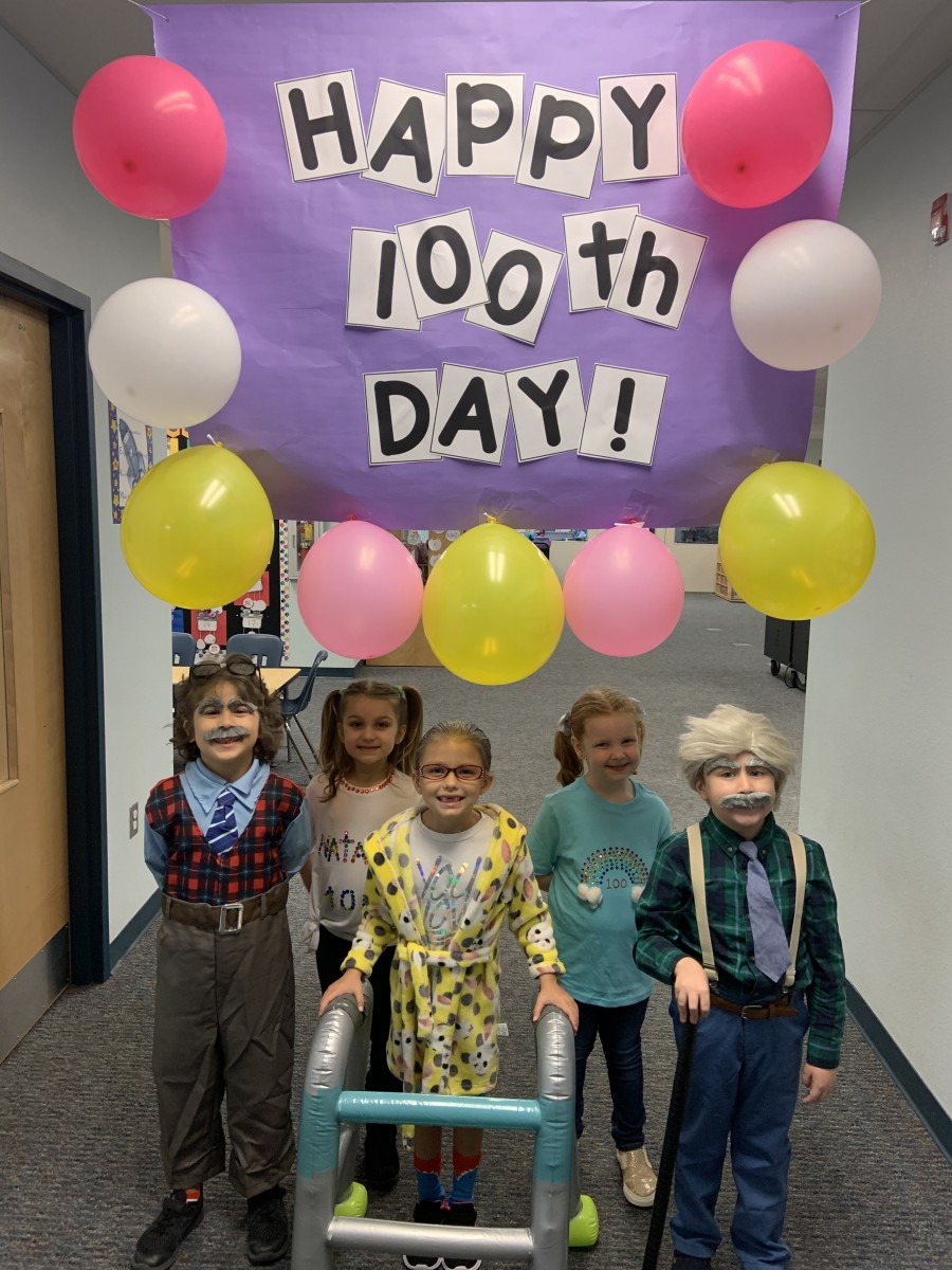 Palm Pointe Celebrates 100 Days of School