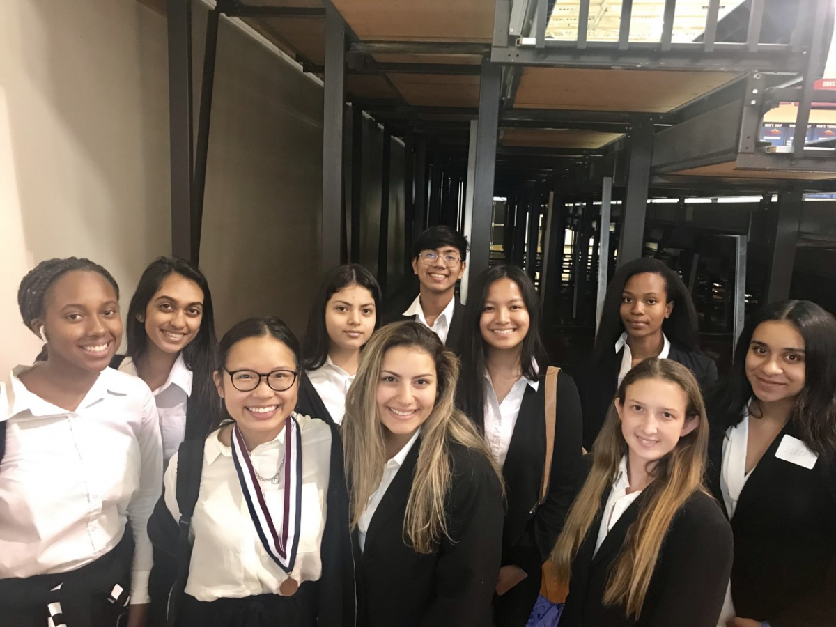 TCHS Competes at HOSA Winter Conference
