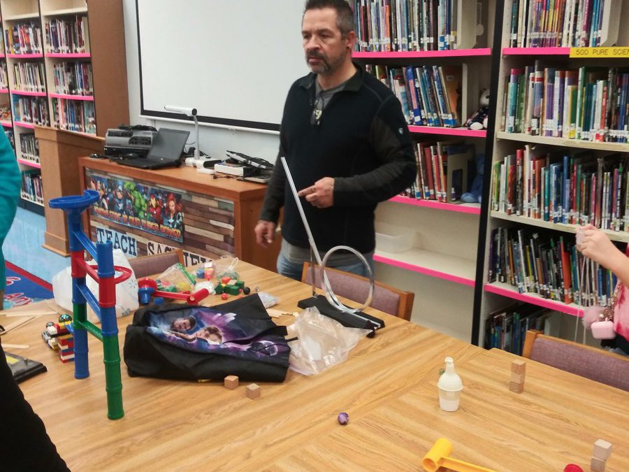 Northport Students Build Rube Goldberg Machines!