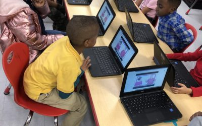 Samuel S. Gaines Academy Kindergarten Technology