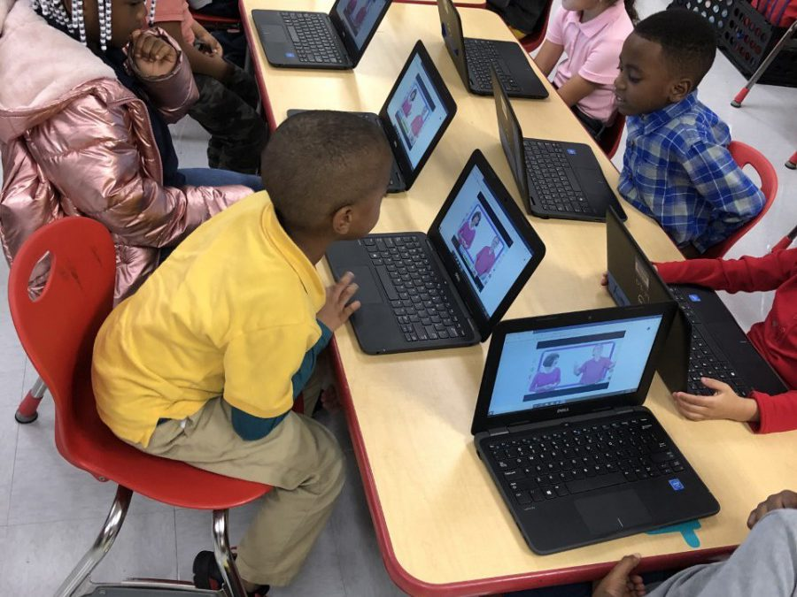 Samuel S. Gaines Academy Kindergarten Technology